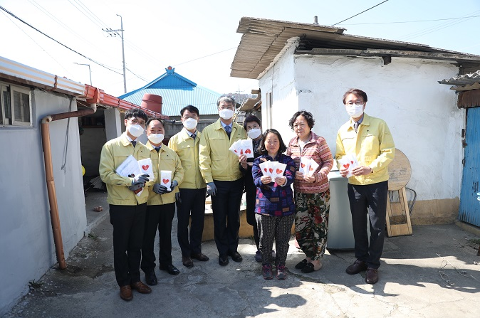 K-water shares KF masks with the people of Yecheon