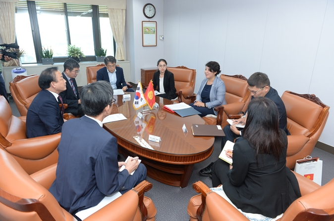 Meeting with the Embassy of Kyrgyzstan