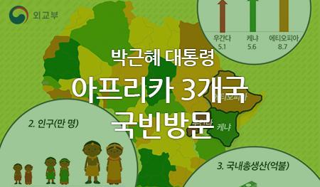 박근혜 대통령 아프리카 3개국 국빈방문
